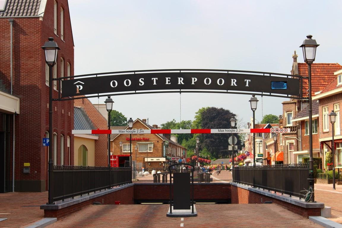 Woon-rijp maken Oosterpoort te Nijkerk