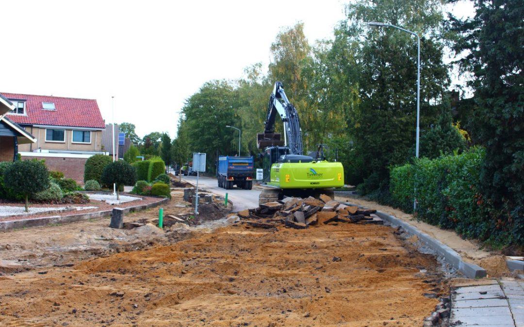 Groot onderhoud Calcariaweg & Sprielderweg